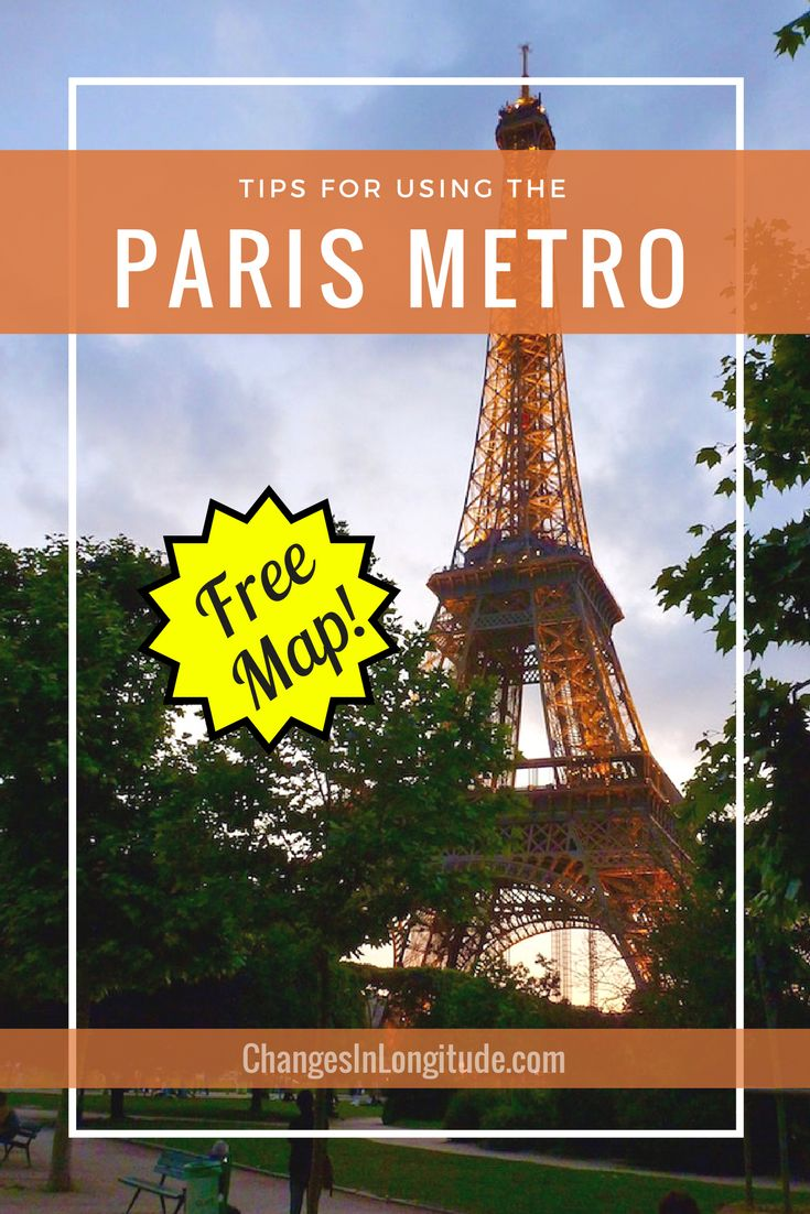 The best map we've found for using the Paris Metro (it's FREE!) Download it and navigate the city like a pro