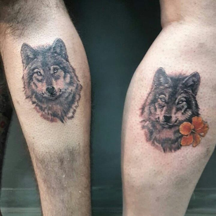 Wolf Tattoo Design For Couples C Tattoo Artist Beto Martinelli Wolf Tattoo Design Tattoos Tattoo Designs