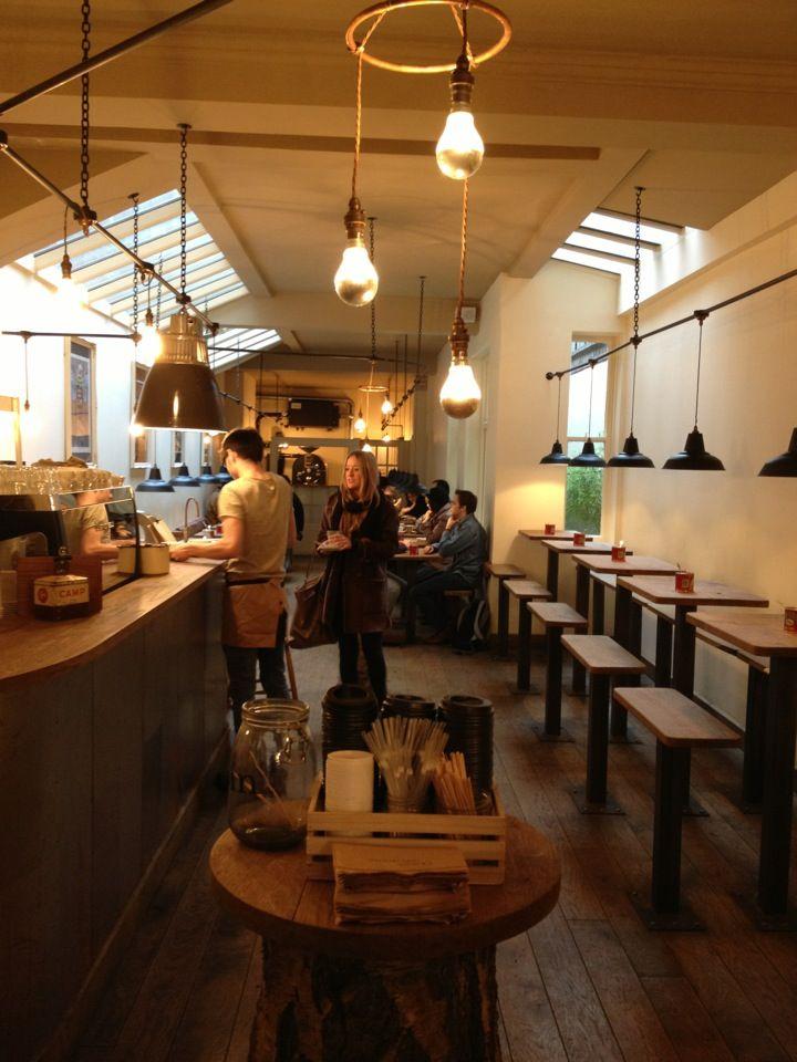 little coffee shop on Wardour street in the middle of Soho