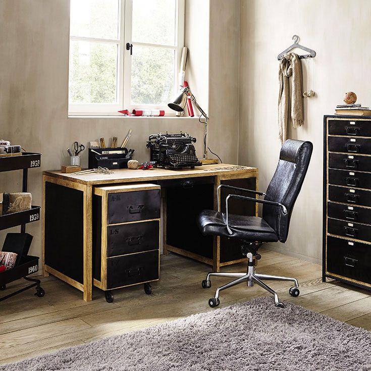 25 best ideas about bureau maison du monde on pinterest - Chaise bureau maison du monde ...