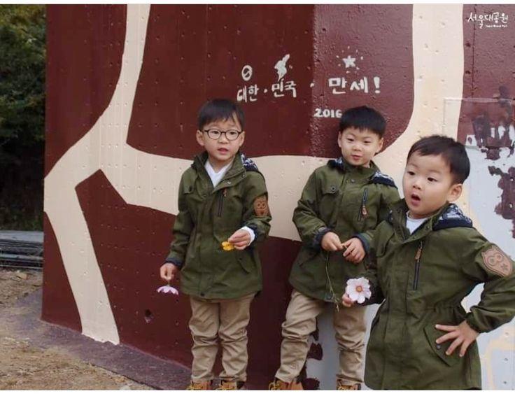 #Cr.as tagged #Igilovesongtriplets #Daehan Minguk ManSe #LalitaMuangman #Song's Cute Triplets
