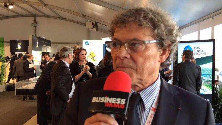 Jo Maso, membre du comité directeur de la Fédération française de rugby (Mipim 2015)