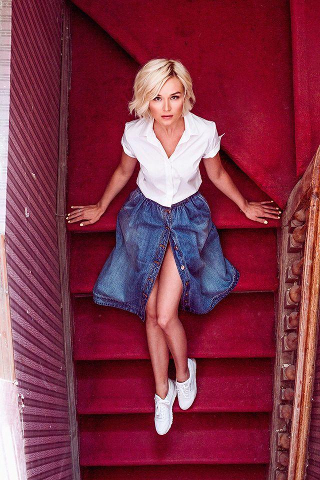Полина Гагарина в рекламной кампании Alexander Terekhov, resort 2016, Buro 24/7