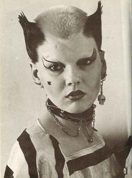 Soo Catwoman, legendary London punk, 1976, Ray Stevenson