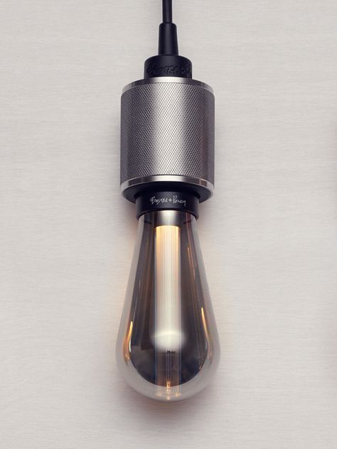 THE WELL   abstrakte LED DECKENLEUCHTE  in dunklem glass