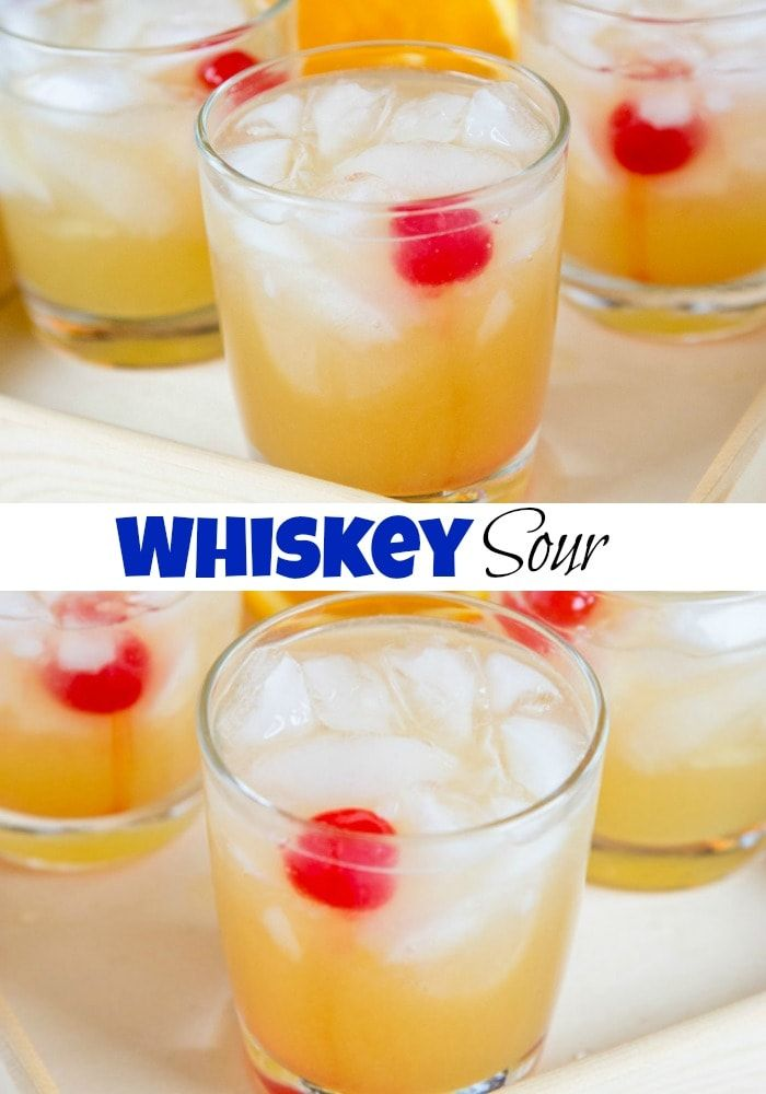 How to make whiskey sour with sweet and mix