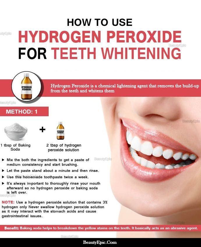 How to Whiten Teeth With Hydrogen Peroxide? | Who Knew