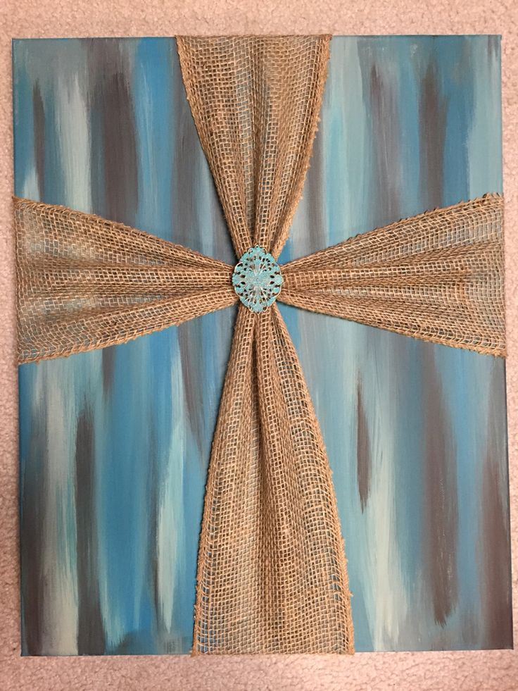 1000 ideas about burlap canvas art on pinterest burlap for How to do painting on canvas