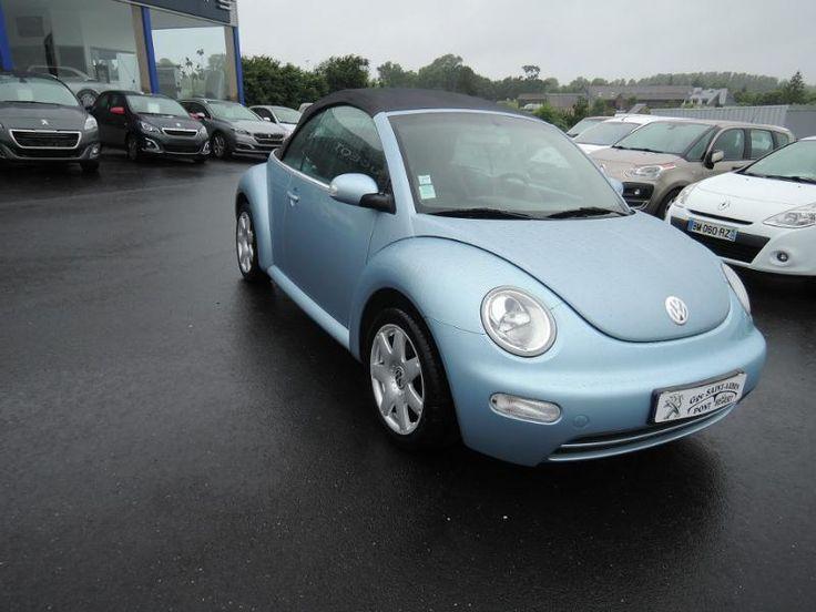 Volkswagen New Beetle cabriolet - Bleu - PONT-HEBERT