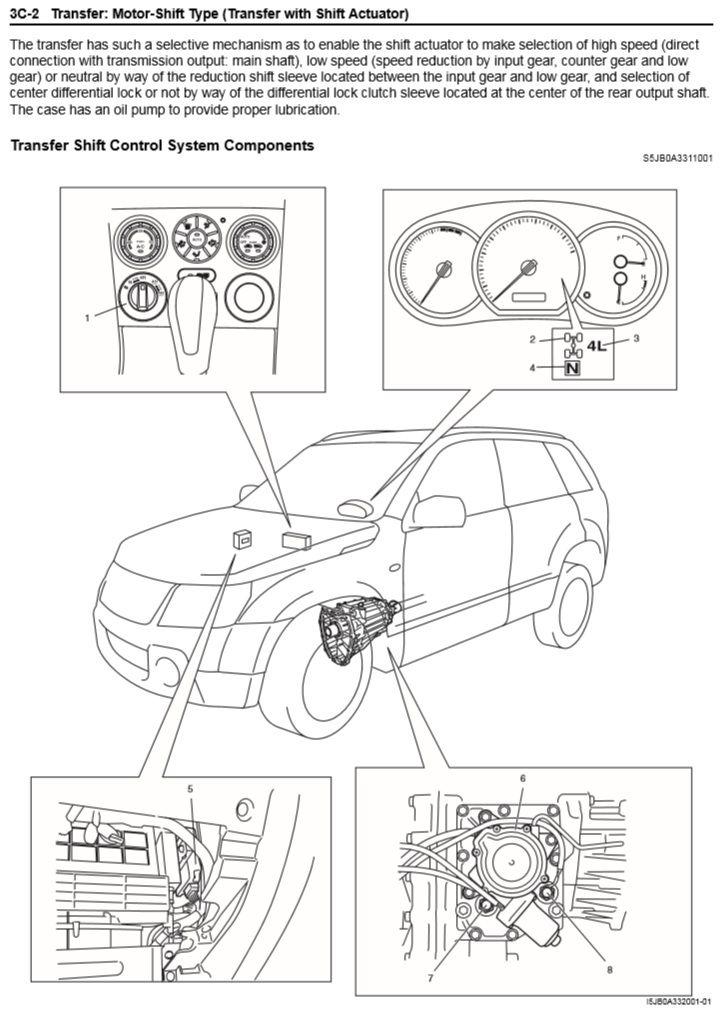 How To Change The Neutral Safety Switch  Suzuki Forenza