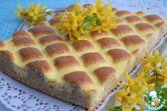 """Пирог """"Стёганое одеяло"""" - кулинарный рецепт"""