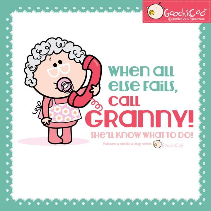 Nanny knows best!