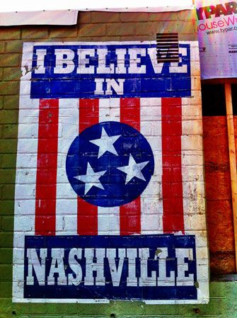 Nashville, Tennessee!