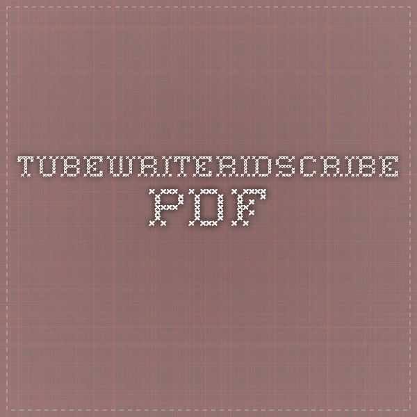 TubeWriterIDScribe.pdf