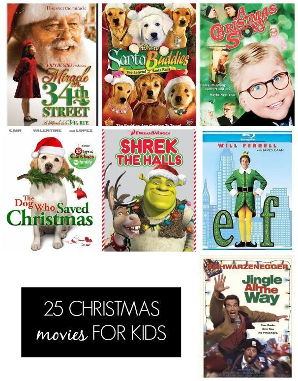 Looking for a new Holiday tradition? How about creating a Christmas Movie countdown? Here's a list of 25 Christmas Movies to get you started that will result in countless hours of family time.