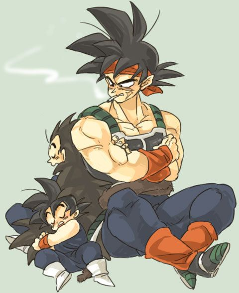 72 best images about Bardock and His Sons on Pinterest ...