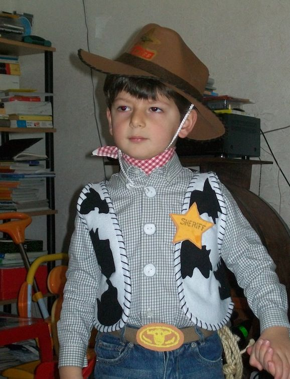Costume da Woody di Toy Story  Autrice: Antonella
