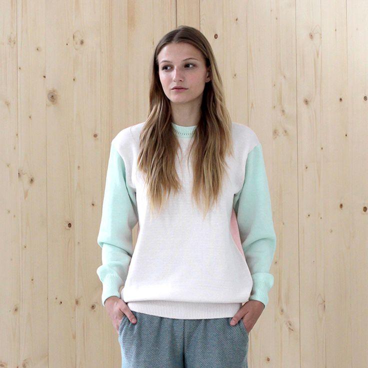 sweater BASIC blossom-rose-zephir