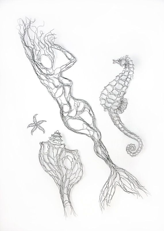 21 best Mermaid Art and Home Decor images on Pinterest | Mermaid art ...