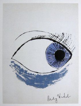 "Andy Warhol"" ""Eye"", 1982 Print"
