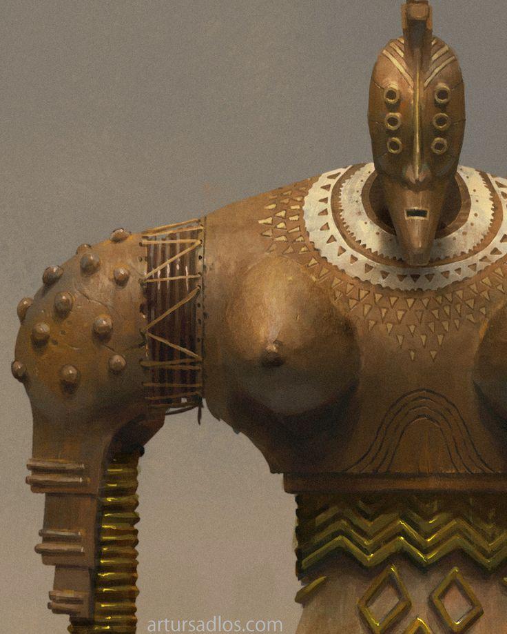 #Conceptverse #Mooeti needs more #robots  #tribal #african #mecha #giant #design #conceptart #digitalart
