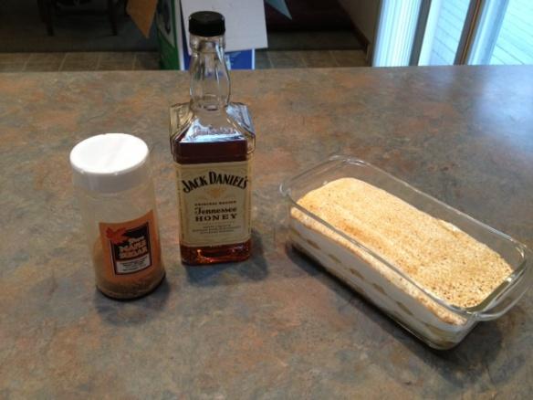 Jack Daniel's Tennessee Honey Tiramisu