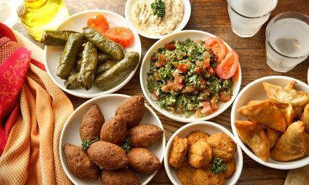 Mezzés libanais en duo à 25.00€ au lieu de 44.00€ (43% de #réduction)