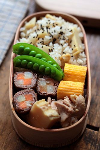 たけのこ三昧 - Japanese Bento Box Lunch