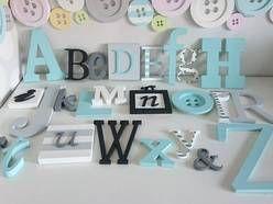 Alfabet 3D na ścianę, dekoracja Oryginalny Wystój KS. Super leciutki, wygodny w montażu alfabet aby małe smyki już od pierwszych dni mogły wspaniale rozwijać swoją wyobraźnię. :)