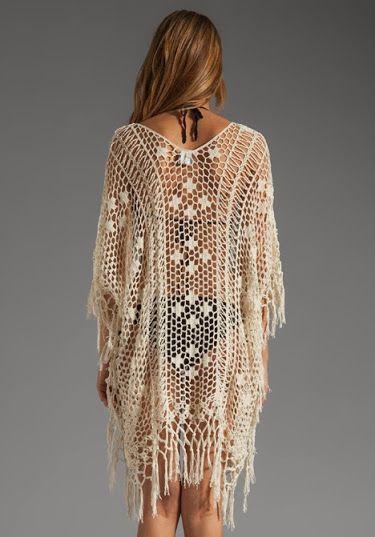 Outstanding Crochet: Cover-up from Anna Kosturova.