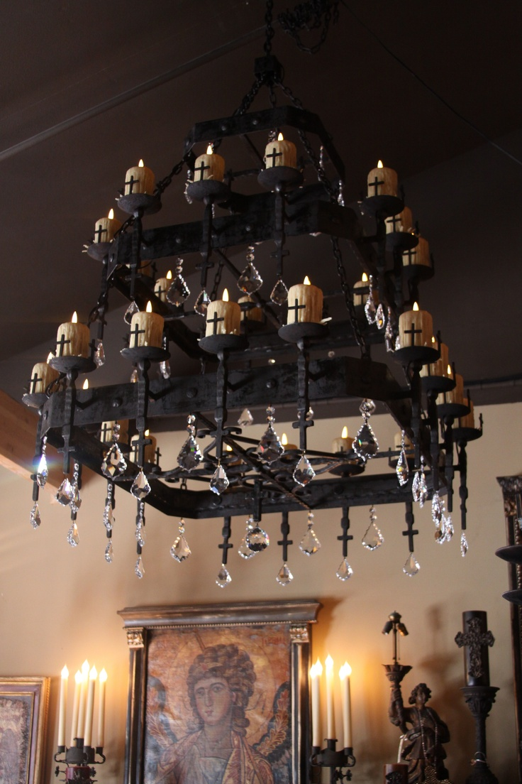 CHANDELIER BURGOS III LED BY ARTE DE FIER ARTS OF IRON