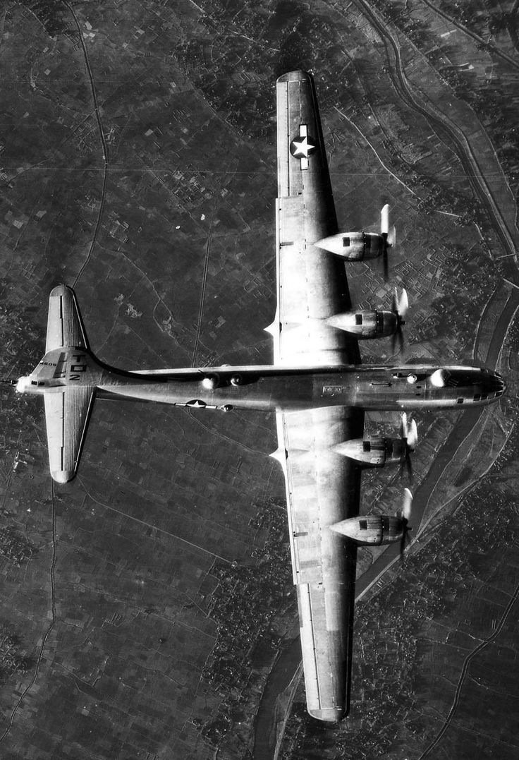 Boeing B-29 Stratofortress     (this was one of my Fathers favorite war planes