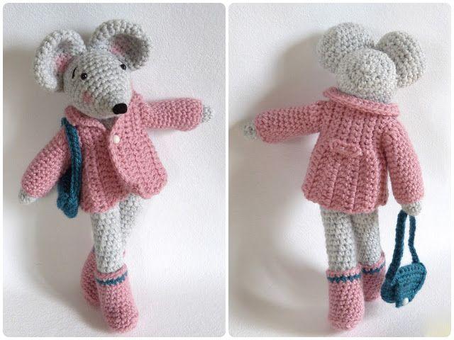 ma petite galerie: Amigurumi: Réalisations et patrons Souris,crochet, mouse