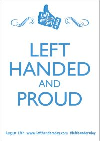 Left Handed and Proud Poster Preview