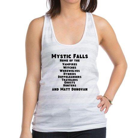 Mystic Falls Racerback Tank Top