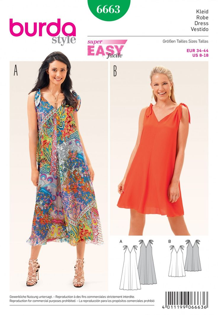 B6663 - New Collection - Burda Patterns