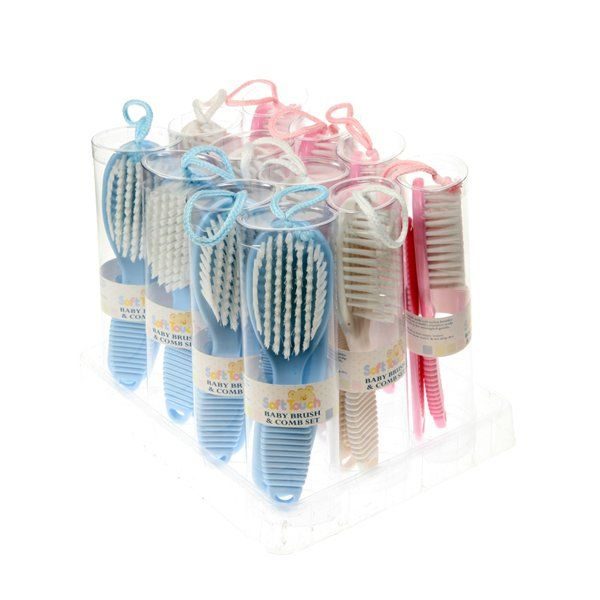 2pc Baby Brush and Comb Set