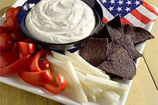 All-American Summer Dip recipe #appetizer #4thofJuly: Holiday, July4Th, Fourth, July Appetizers, 4Thofjuly Kraftrecipes, Summer Dip, Appetizer 4Thofjuly, Appetizers Dips, Dip Recipes
