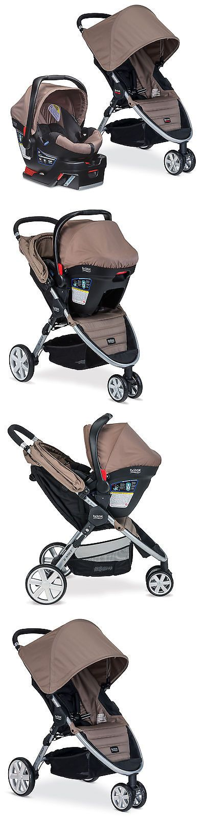 baby kid stuff: Britax 2015 B-Agile Stroller And B-Safe 35 Infant Car Seat Travel System Sandstone BUY IT NOW ONLY: $329.99