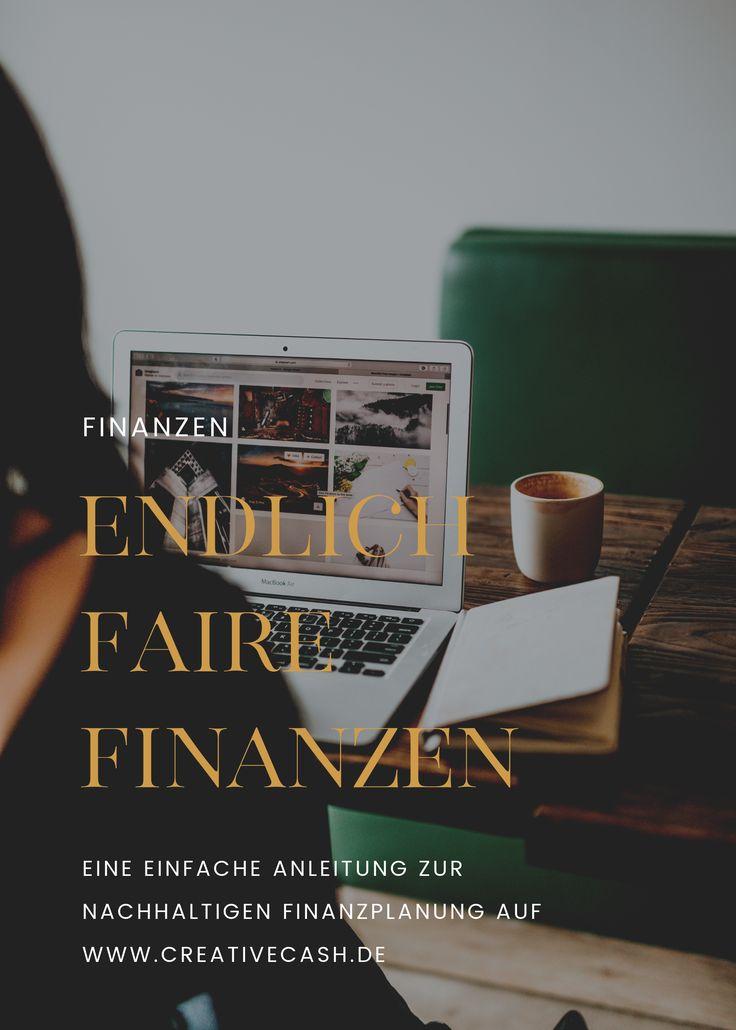 Mach deine Finanzen nachhaltig! (mit Bildern) Finanzen