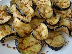 recuerdos de españa ... berenjenas con miel  (fried eggplant with honey, one of my favorite tapas I had in Spain)