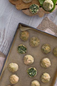Polpette di spinaci e ricotta: semplici e veloci da preparare. Come resistere?  Spinach and ricotta cheese balls