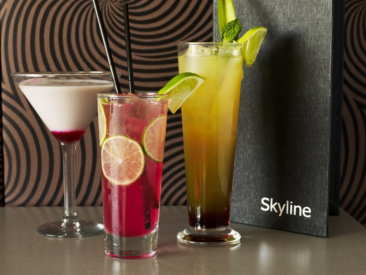 Check out Skyline #Bar at Rydges #Adelaide. With a view over the city, it's the perfect place to wind down after work or for a pre-dinner drink.