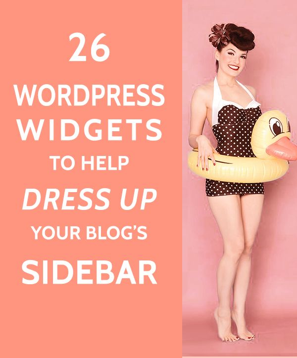 26 Widgets to Dress up your WordPress Sidebar - A Prettier Web