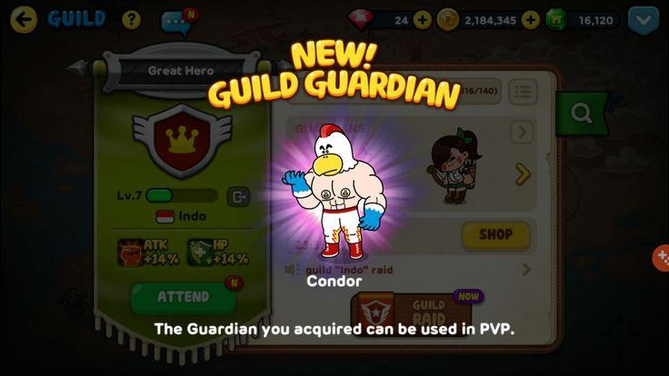 #linerangers #newguildguardian #unlocked #achievement #success #pvp #Condor