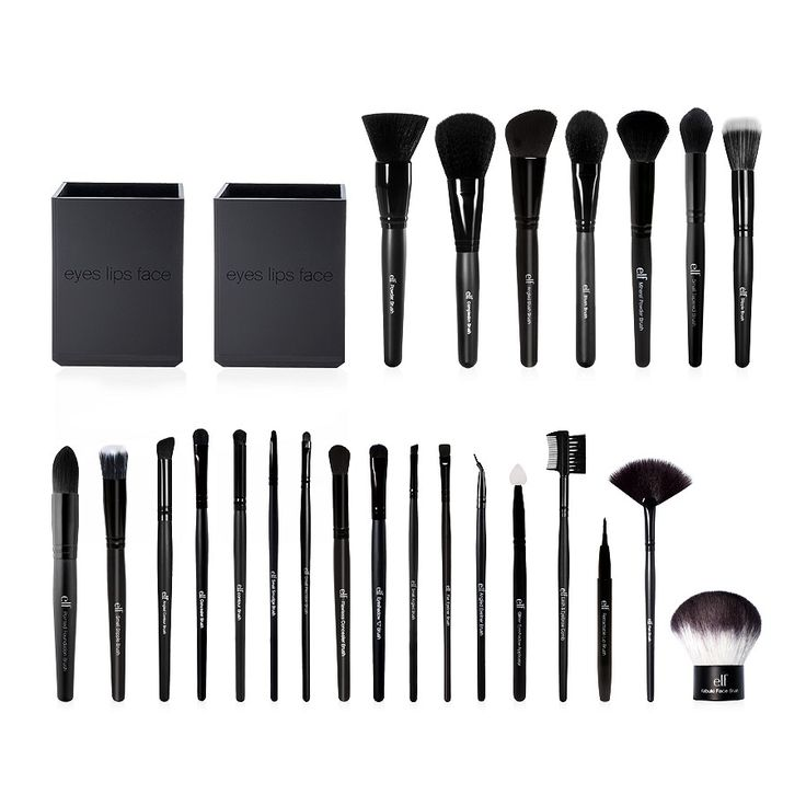 Holiday Studio 25-Piece Complete Professional Brush Collection