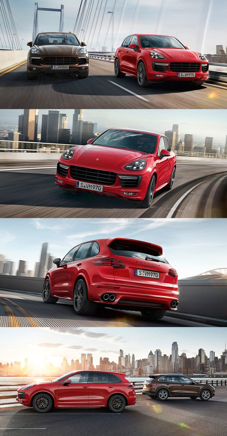 The best way to experience something is up close. That's why the new Cayenne GTS gets you closer to the road. For a more direct driving experience. And for a level of performance that's usually only to be found on the racetrack. *Combined fuel consumption in accordance with EU6: 10.0–9.8 l/100 km; CO2 emissions 234–228 g/km