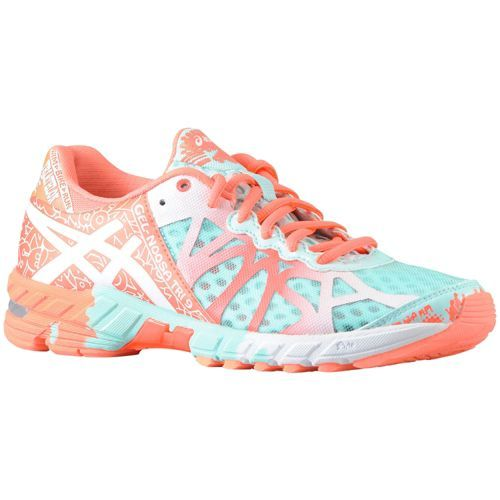 ASICS® Gel - Noosa Tri 9 - Women's - Running - Shoes - Glacier/White/Hot Coral HAVE TO HAVE