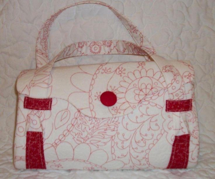 Sewing: Blossom handbag