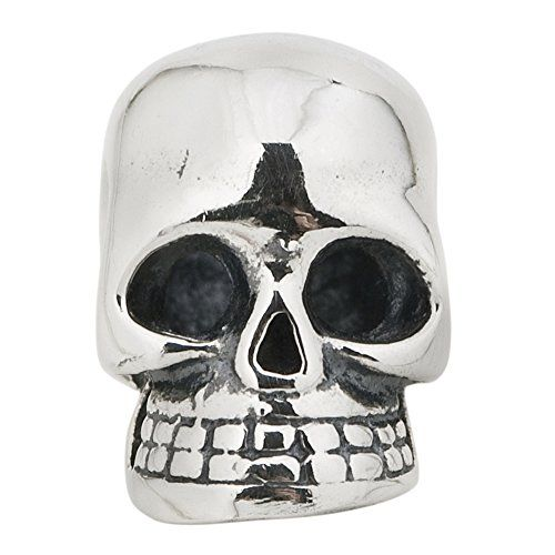 Halloween Gift Skull Authentic 925 Sterling Silver Symbols Bead Fits Pandora ...